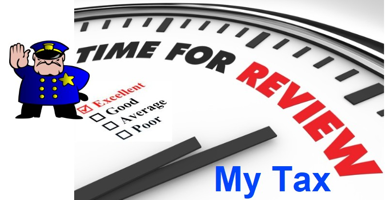 Police tax return review