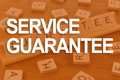 We have multiple guarantees on our work